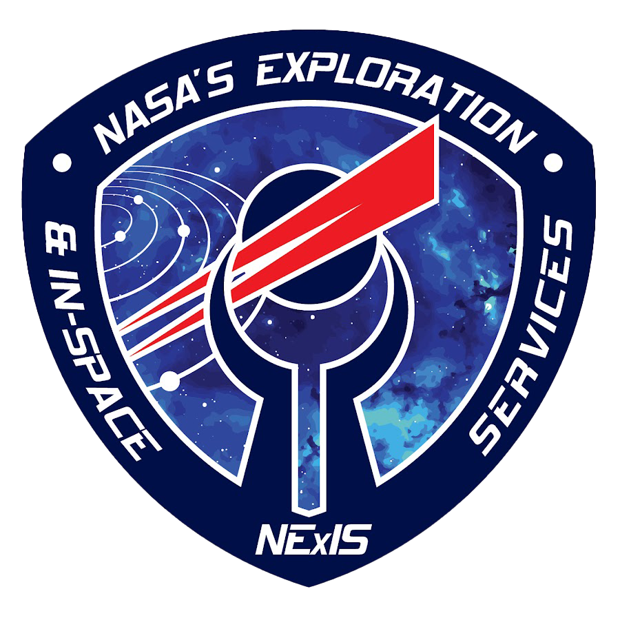 NASA exploration and in space services mission badge